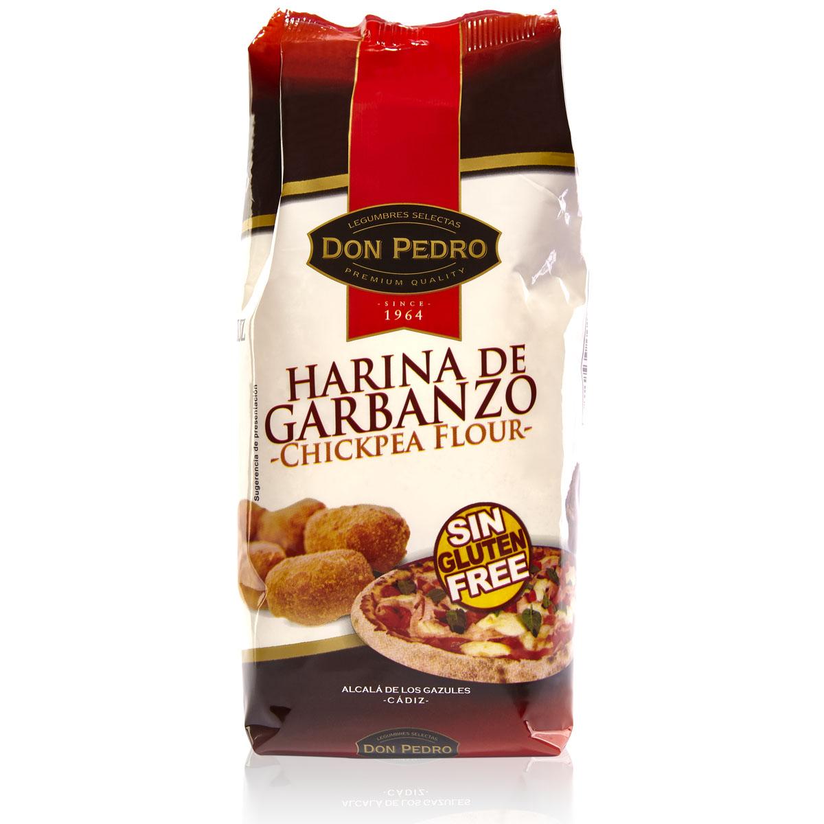 Don Pedro Harina de garbanzos, 400g