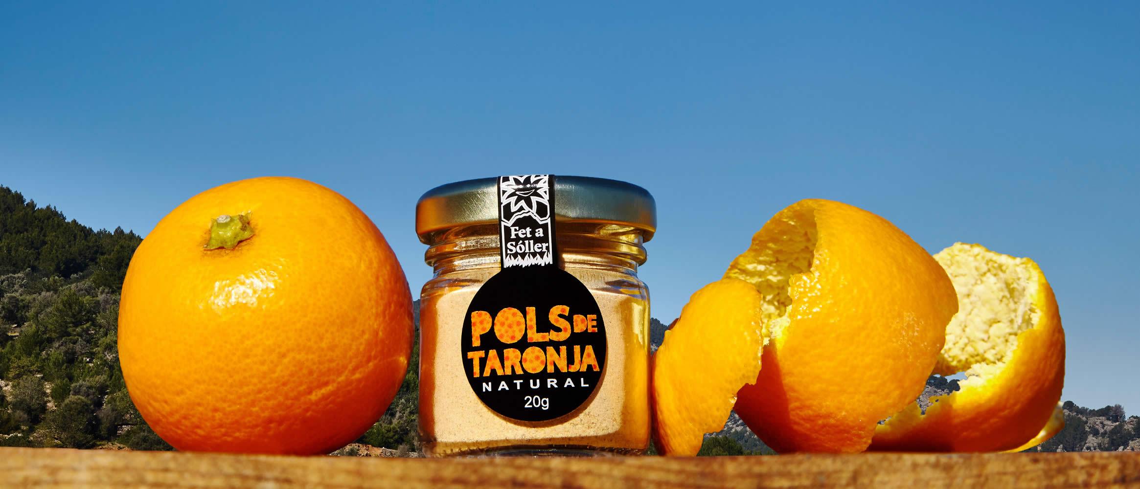 """Pols"" finely milled orange peel 60g"