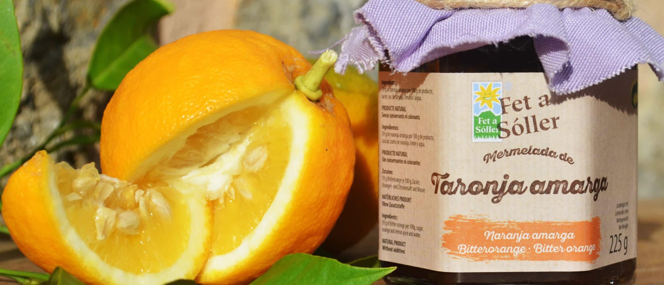 Marmelade de Naranja amarga Fet a Sóller