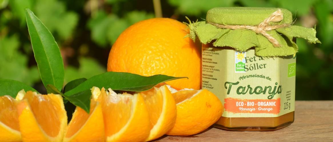 """Fet a Sóller"" Organic orange jam 225gr"