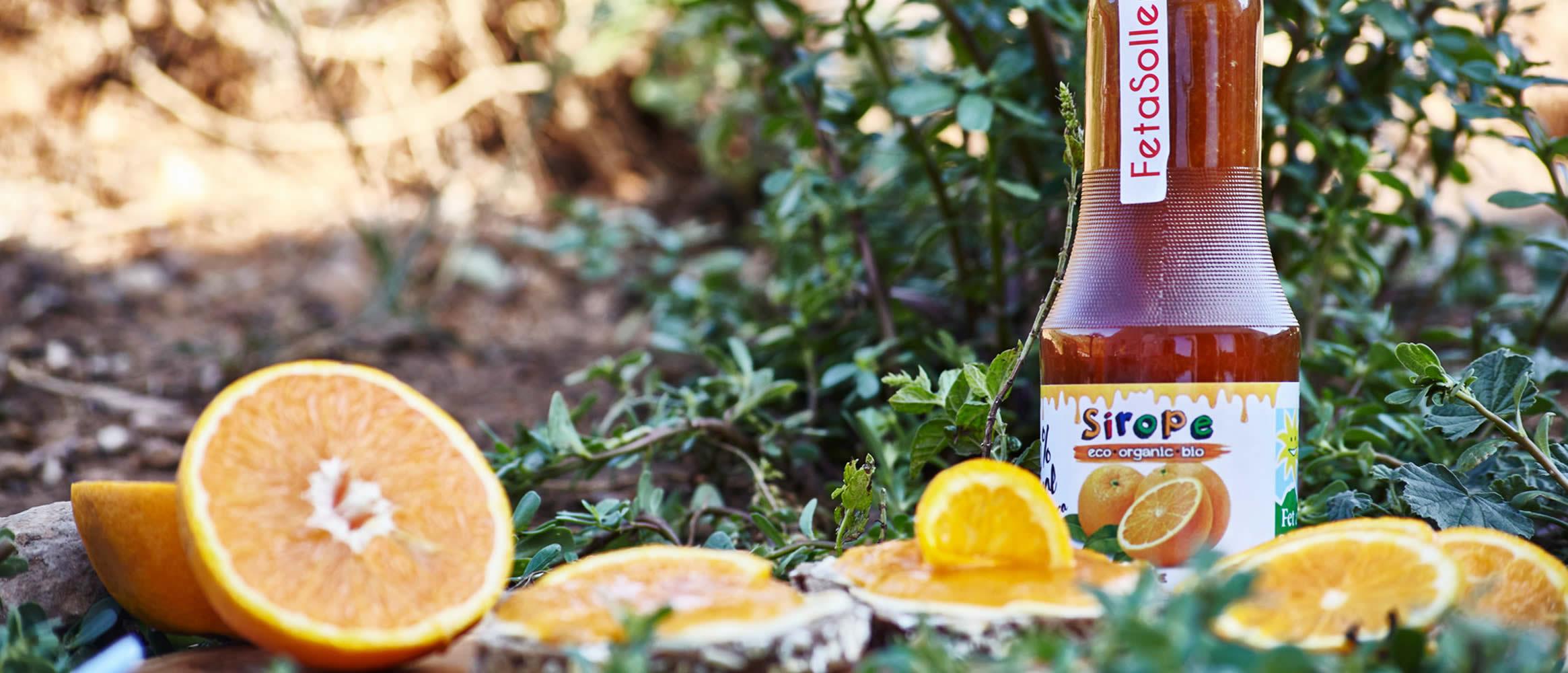 Sirope de Naranja ecológico Fet a Sóller