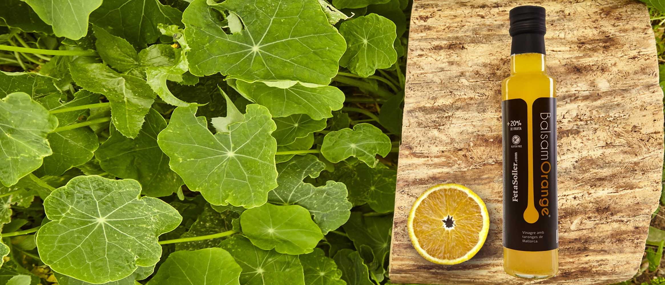 BalsamOrange Condimento de vinagre de vino con naranja