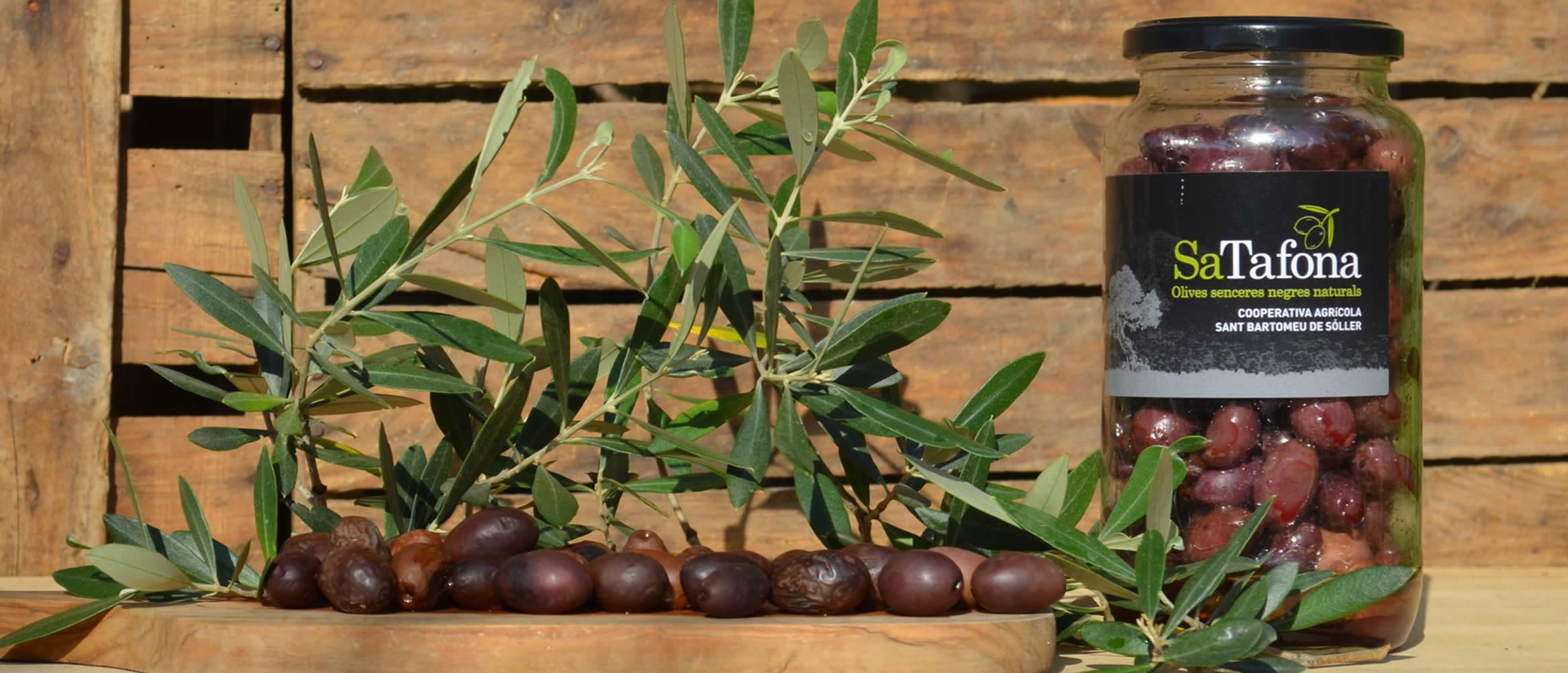 """Sa Tafona"" Black olives 550g"