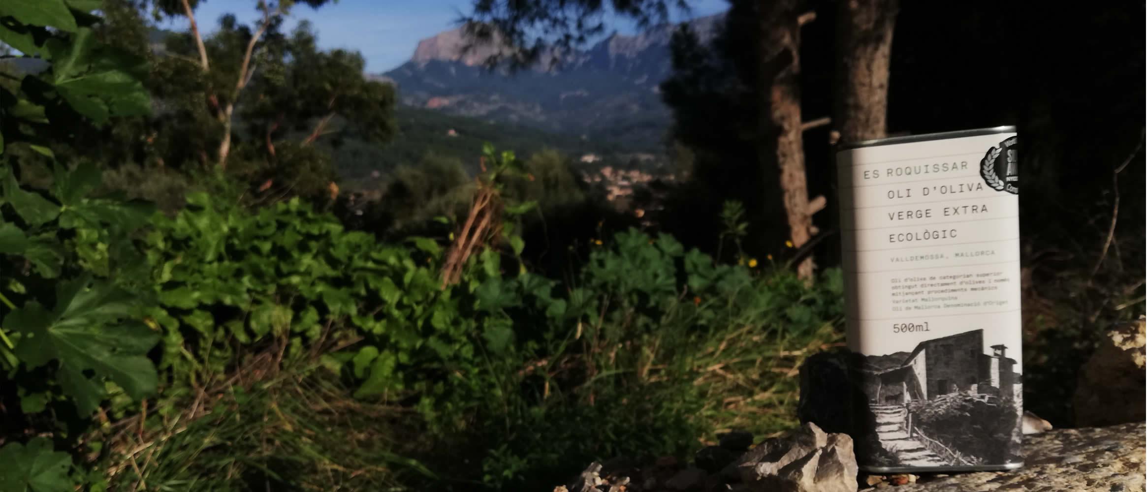 Es Roquissar Bio Olivenöl virgen extra, D.O. 500ml