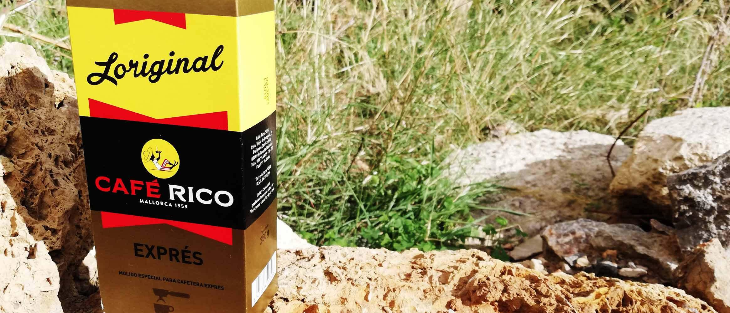Café Rico molido exprés