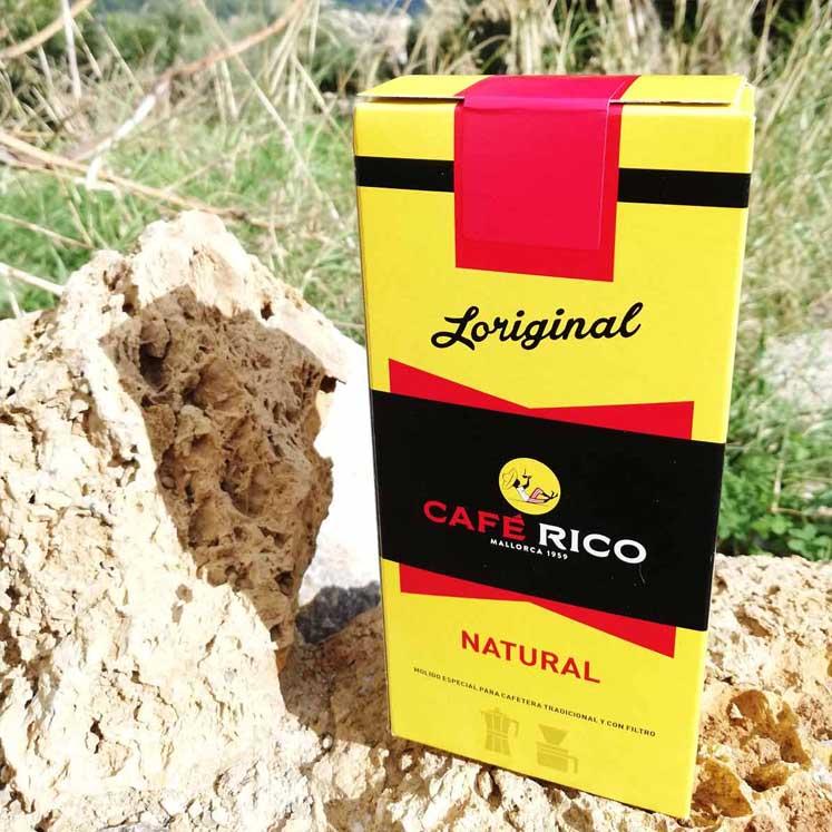 Café Rico molido Natural