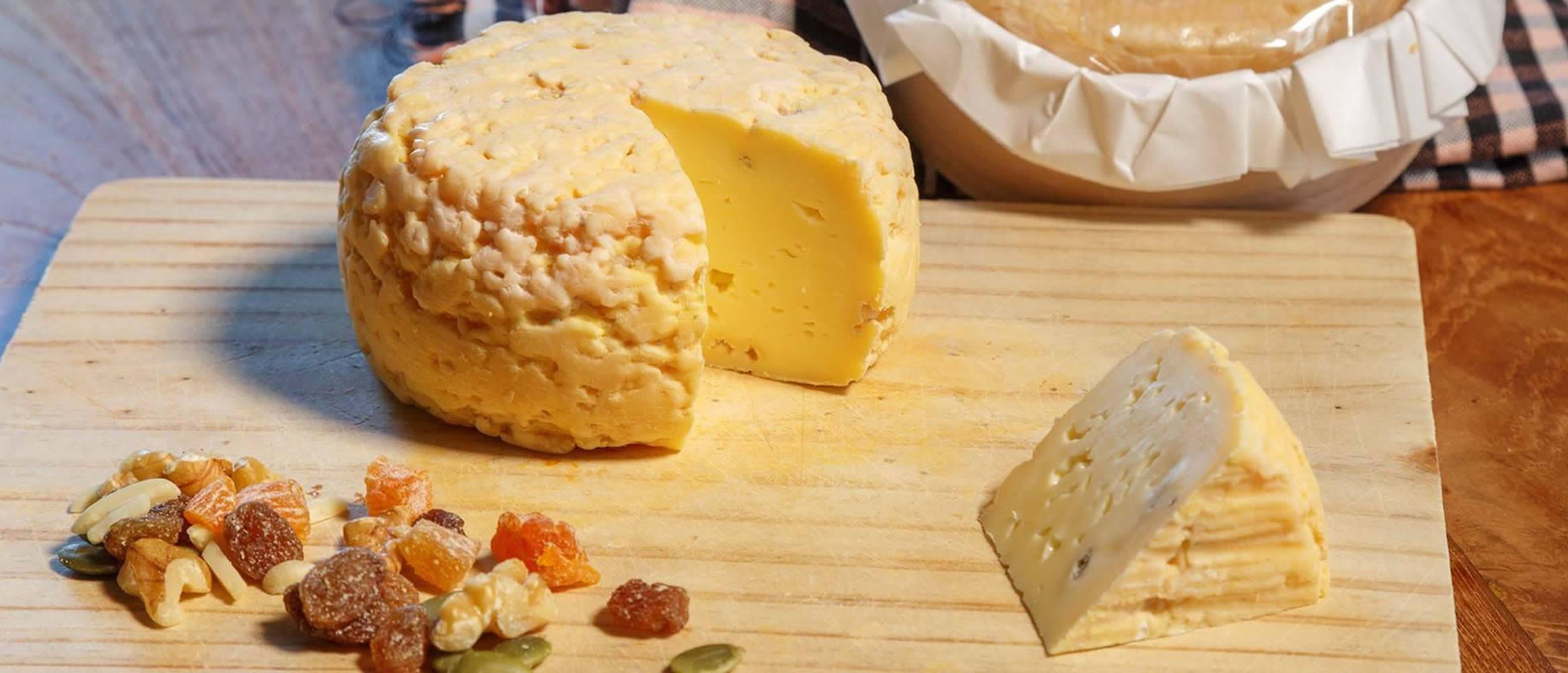 Cala Blanc queso semiblando de vaca madurado